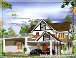 beautiful villa design 2400 sq ft home appliance
