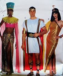 Butterick Halloween Costume Patterns Amazon Butterick 3587 Roman Eygptian African Costumes