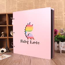 big photo albums 16inch diy wood paste type big size personalized photo albums baby