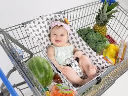 shopping cart hammock triangles binxy baby