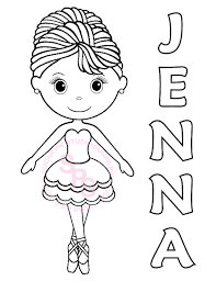 Personalized Printable Ballerina Dance Birthday Sugarpiestudio