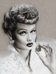 lucille ball i love lucy lucille ball the chocolate factory melody owens art