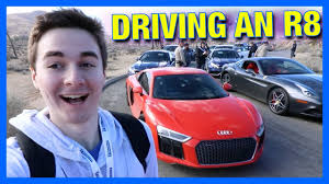 they let me drive a supercar youtube