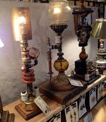 Floor Lamp Nyc Steampunk Lamps Handmade By The Steampunk Illuminist First Floor