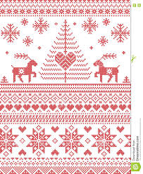 Free Cross Stitch Christmas Ornament Patterns Scandinavian Style And Nordic Culture Inspired Christmas And