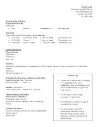 resume writing samples cy falls college u0026 career center