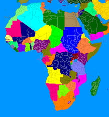 Africa Blank Map by A Blank Map Thread Page 123 Alternate History Discussion