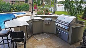 gorgeous outdoor grill island and bar in coral springs u2013 florida