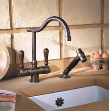 rustic kitchen faucets valence rustic kitchen faucet in copper brass farmhouse