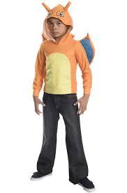 Charmander Halloween Costume Charizard Hoodie Child Costume Purecostumes