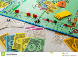 Monopoly Map Monopoly Board Game In Play Editorial Stock Photo Image 46853888