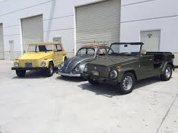 vw kubelwagen for sale vw thing ev vs gas motor youtube