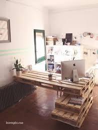 fabriquer un bureau avec des palettes sur la fa on de faire un bureau avec des fabriquer