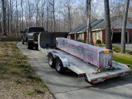trailer garage lift installation