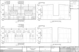 2 storey commercial building floor plan 2 storey modern commercial building w roof deck