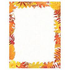 thanksgiving borders paper happy thanksgiving