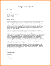cover letter special education sample cover letters for teaching positions choice image cover