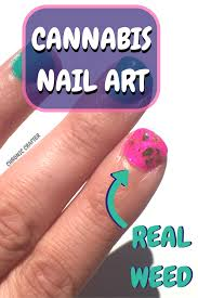 diy cannabis nail art the marijuana manicure u2014 chronic crafter