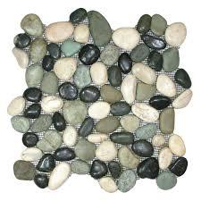 show glazed maui turtle pebble tile 244 for our shower floor