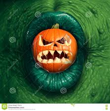 halloween monster jack o lantern stock illustration image 75395455