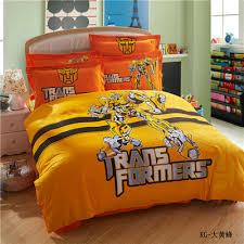 Transformer Bed Set Transformers Bumblebee Duvet Comforter Cover