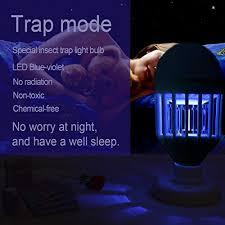 no bug light bulb bug zapper light bulb 15w 2 in 1 mosquito killer l 1200lm e26