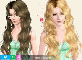 hair color to download for sims 3 sims3 custom download newsea hair yu151 julian