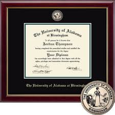 of alabama diploma frame diploma frames the uab bookstore bookstore