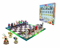 plastoy asterix chess set amazon co uk toys u0026 games