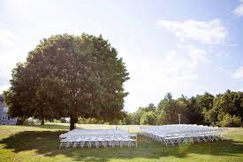 portsmouth nh wedding venues one of many outdoor ceremony at a quaint new hshire