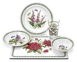 Dining Room Plate Sets by Amazon Com Portmeirion Botanic Garden Amazon Exclusive 20 Piece