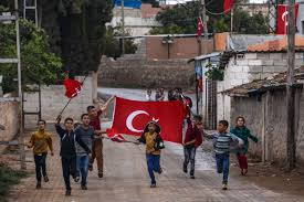 Rebel Syrian Flag Turkish Troops Enter Syria In Major Operation To Support Anti