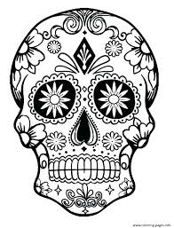 printable coloring pages sugar skulls coloring pages sugar skulls skull coloring book day of the dead mask
