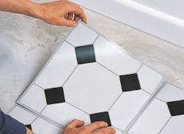 Floor Covering Ideas For Hallways How To Lay Vinyl Floor Tiles Ideas Advice Diy At B Q