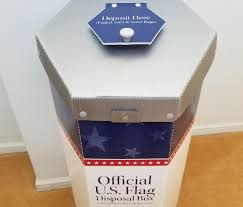 Rules Disposing American Flag Public Can Drop Off Old U S Flags At 3 New Boxes Nj Com