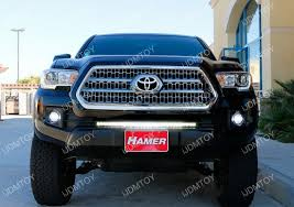 tacoma grill light bar 150w cree led light bar system for 2016 up toyota tacoma