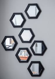 Modcloth Home Decor by Geometric Makeover Wall Mirror Set All Abode Pinterest