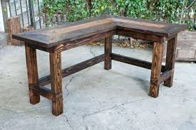 Diy Rustic Desk Rustic Wooden Desk Ronin Lodge Warm Pine Wood Classic Desks And