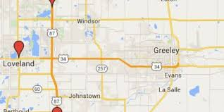 Windsor Usa Map by Woman Shot While Driving I 25 Near Windsor