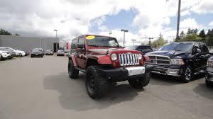 pearl jeep wrangler 2008 jeep wrangler sahara color red rock crystal pearl coat