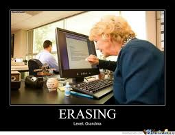 Computer Grandma Meme - funny tech memes mutually