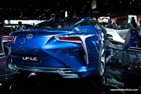lexus lf lc blue concept lexus lf lc blue concept at 2012 los angeles auto show picture