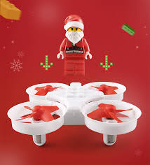free sample eachine e011c flying santa claus with christmas