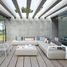 l univers du canapé 15 canapés extérieurs pour un coin outdoor relax gris clair