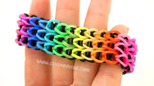 bracelet rubber bands maker images How to make a triple single rainbow loom bracelet idunn goddess jpg
