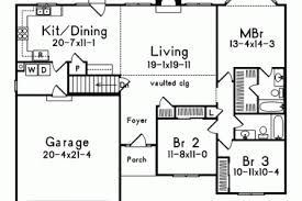 26 simple one floor house plans porches simple one story floor