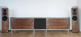 low profile av cabinet low profile av cabinet walnut long low contemporary av cabinet