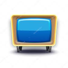 retro simple tv u2014 stock vector kloromanam 63539887