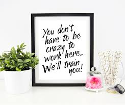 cubicle decor printable office wall art funny office signs