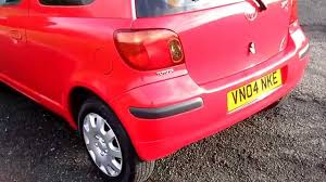 www bennetscars co uk 2004 toyota yaris 1 3 t3 very nice only 49k